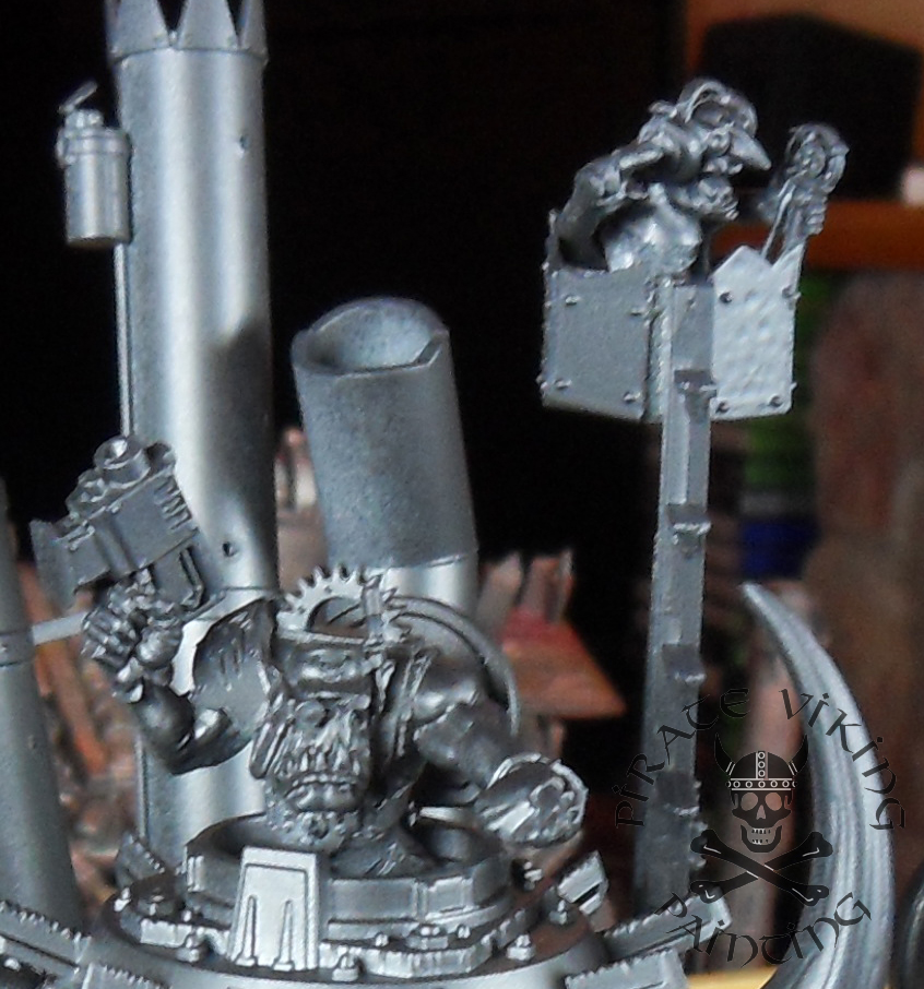 Pirate Viking Painting: On The Workbench: Ork Stompa