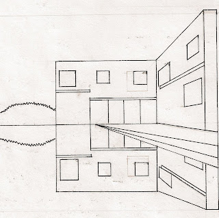 IARC- First Year: Perspective Final Drawings