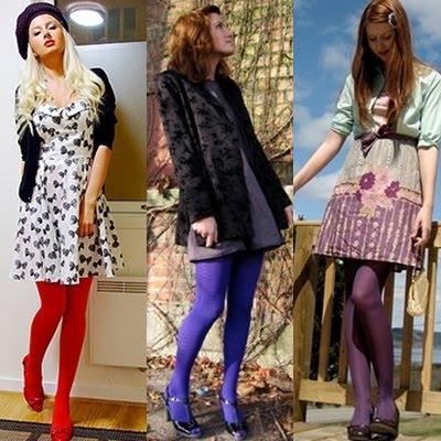 9a93f5a3c Fashion World Up - Dicas e Tendências  Look de inverno  Meia calça