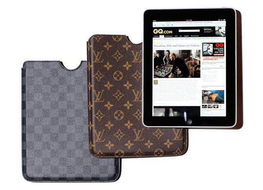 A grife Louis Vuitton anunciou nessa quarta-feira, dia 28, que irá lançar  iPad cases para proteger o recém-lançado e disputadíssimo produto da Apple. d97ecffc07
