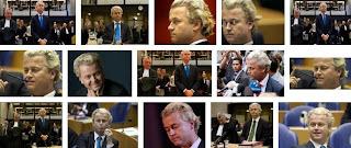 photo gambar sidang penistaan agama, Geert Wilders