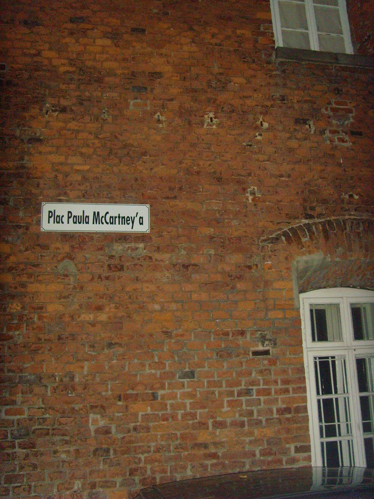 McCartney street in Poland