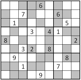 picture regarding Multi Sudoku Printable referred to as The Reasonable Planet of Puzzles: Regulations of Unusual-Even Sudoku