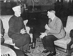Arab Leader Conspiring with Hitler to Help Eradicate Jews