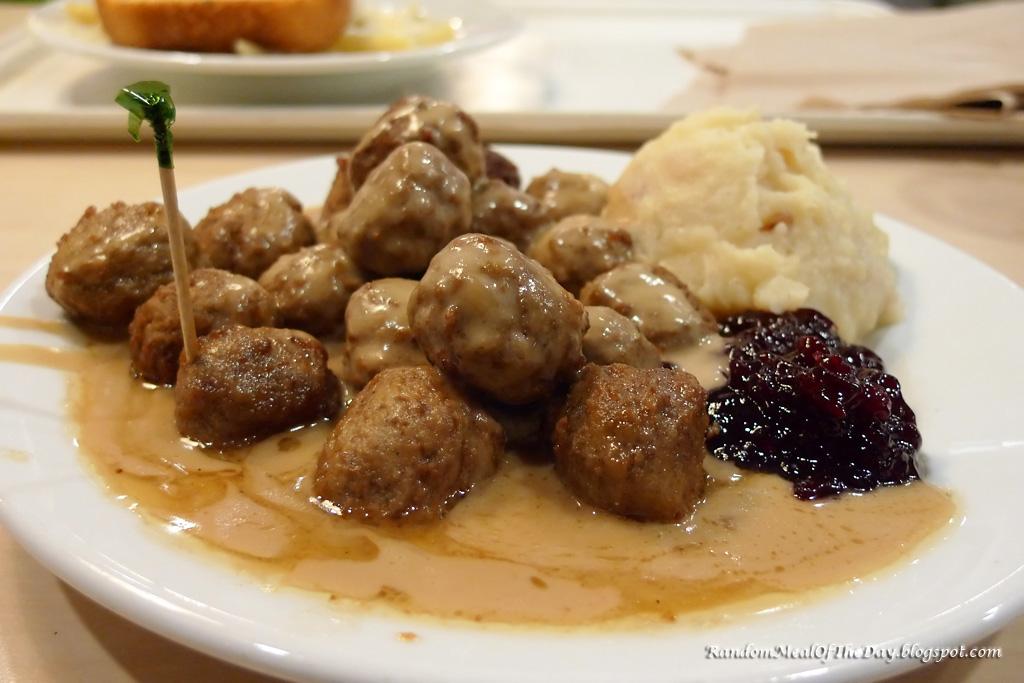 Random Meal Of The Day Ikea Swedish Meatballs