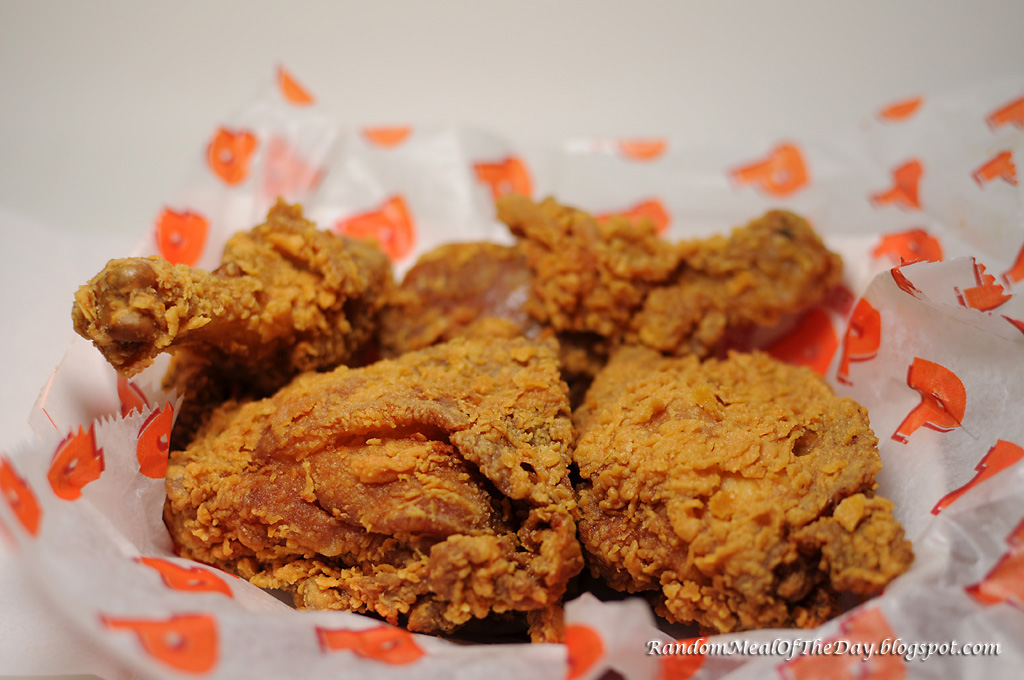 Popeyes Fried Chicken: Random Meal Of The Day: Popeyes Fried Chicken