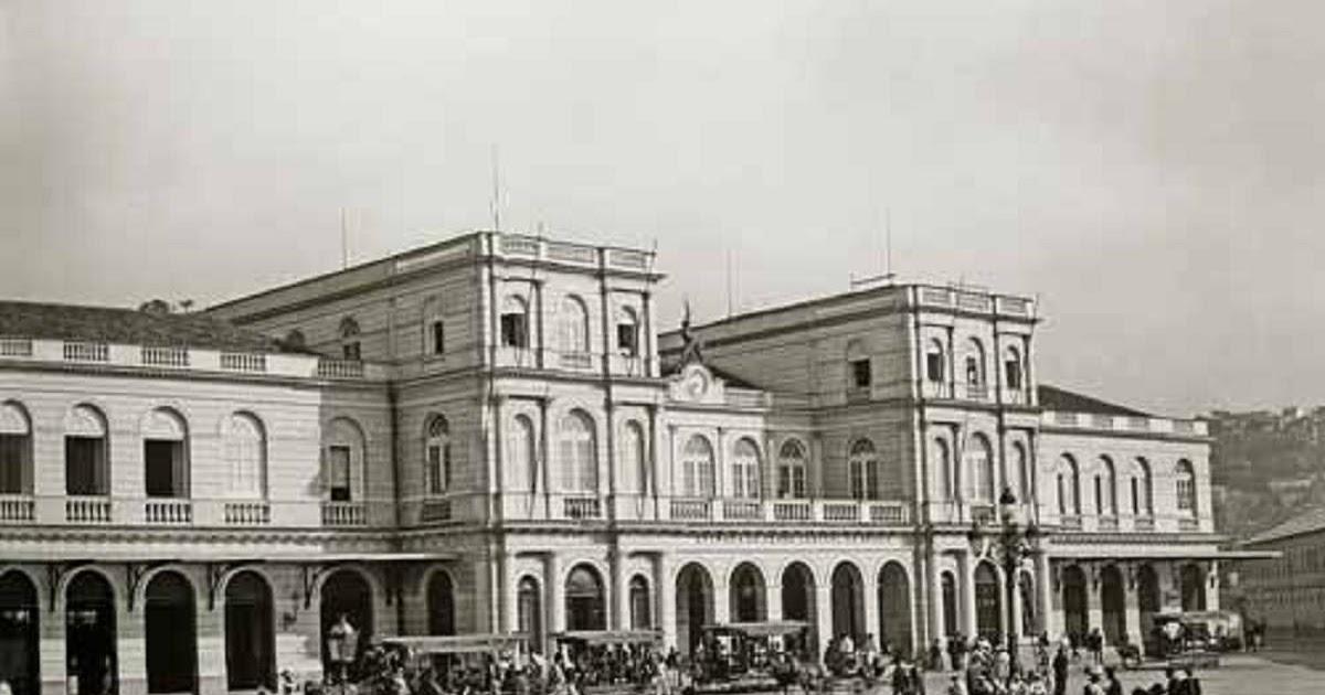 A Gloriosa Central do Brasil nas Minas Gerais: 6- Estação Ferroviária Dom Pedro II - E.F.Central do Brasil _ Rio de Janeiro - RJ 1895