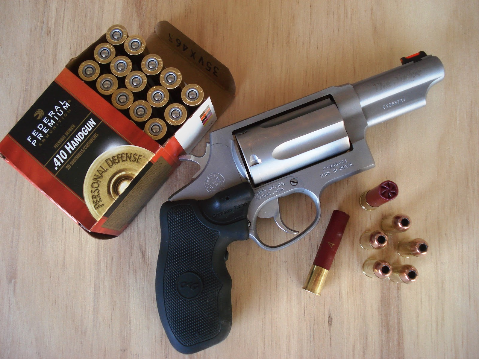 Unleaded Ink: The Taurus Judge is taking the marketing ... - photo#35
