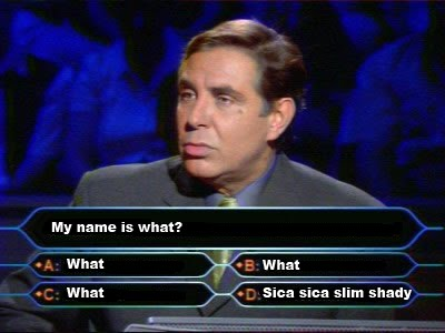 AND ANSWERS A BE WANTS TO MILLIONAIRE QUESTIONS WHO