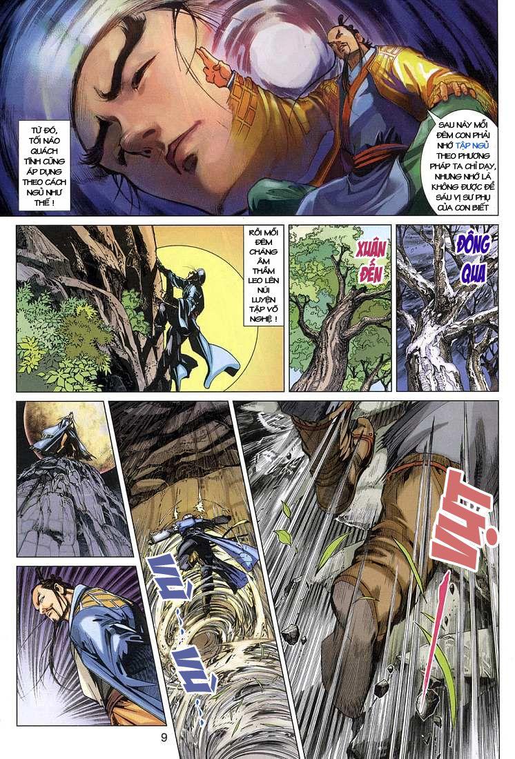 Anh Hùng Xạ Điêu anh hùng xạ đêu chap 4 trang 9