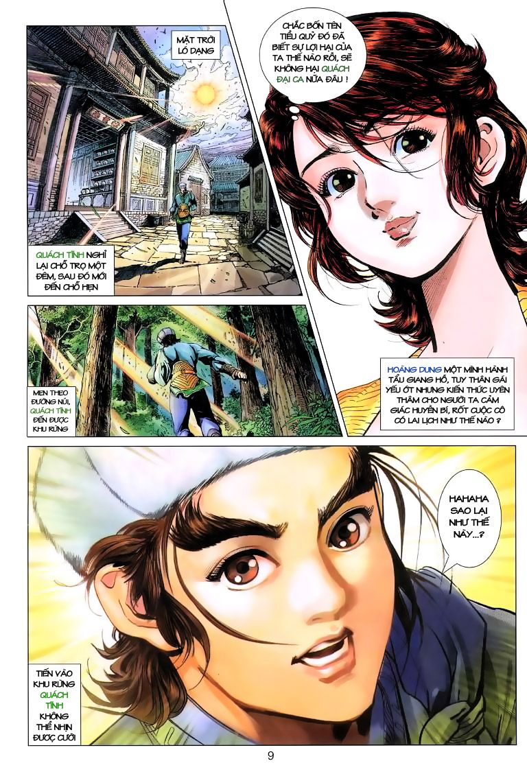 Anh Hùng Xạ Điêu anh hùng xạ đêu chap 6 trang 9