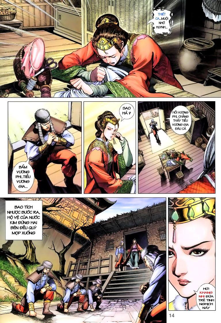 Anh Hùng Xạ Điêu anh hùng xạ đêu chap 6 trang 14