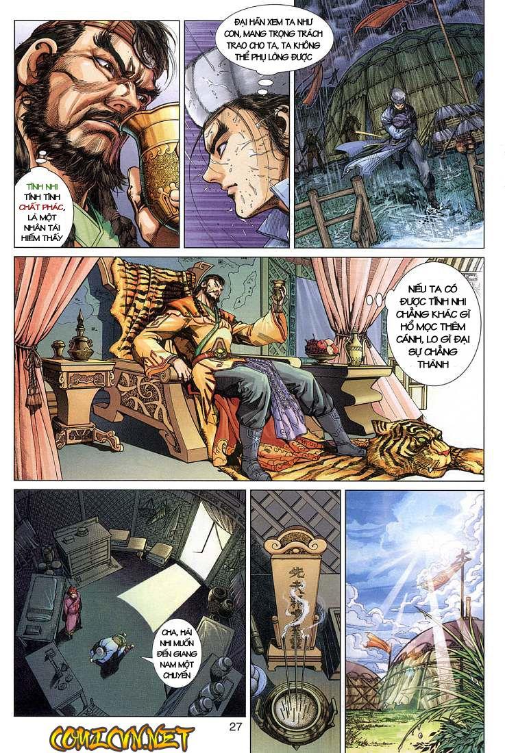 Anh Hùng Xạ Điêu anh hùng xạ đêu chap 4 trang 27