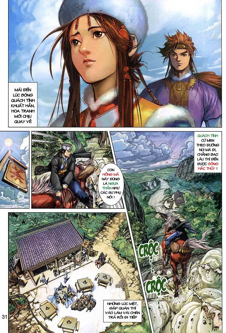 Anh Hùng Xạ Điêu anh hùng xạ đêu chap 4 trang 31