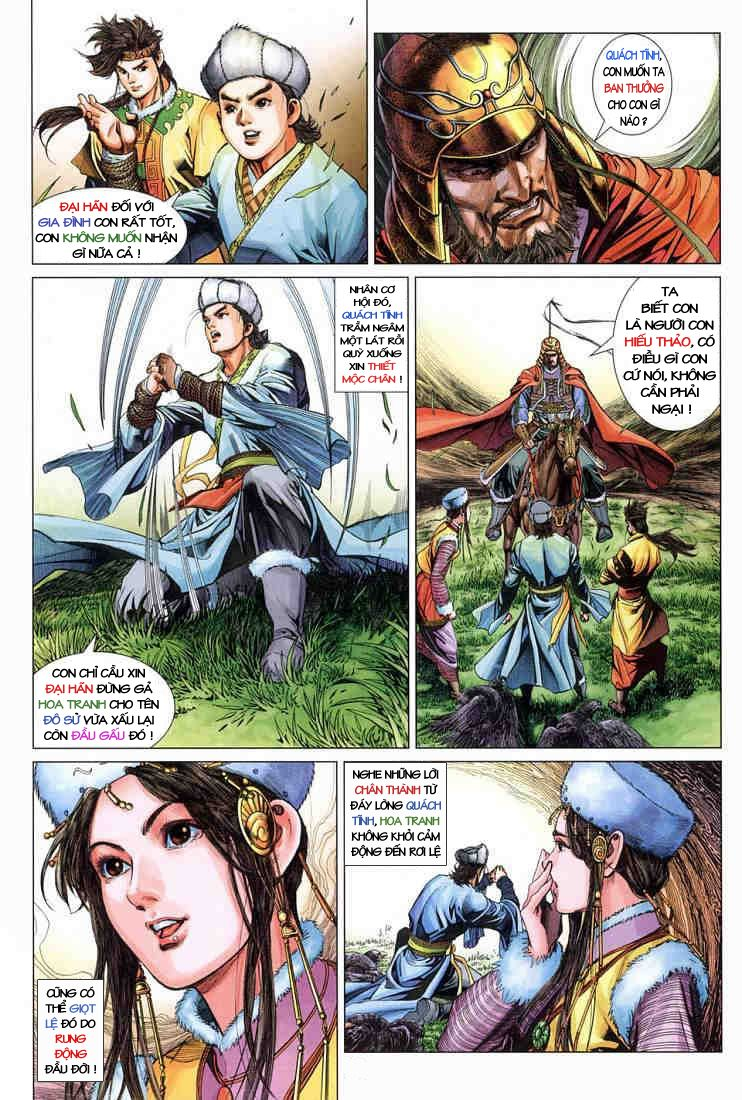 Anh Hùng Xạ Điêu anh hùng xạ đêu chap 3 trang 19