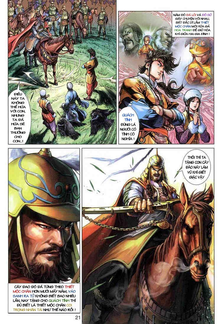 Anh Hùng Xạ Điêu anh hùng xạ đêu chap 3 trang 20