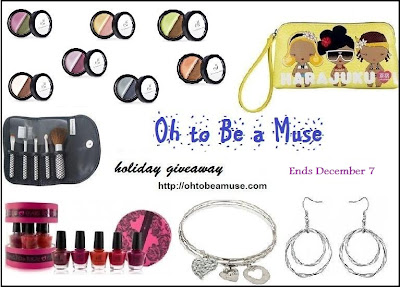 Holiday Giveaway on ohtobeamuse