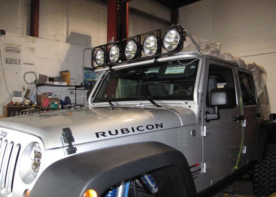 "Orlando Chrysler Jeep Dodge >> HEDRICK speedsports: KMA Fabrications & Baja Designs ""work of art"" Lightbar..."