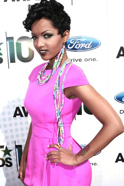 Raw...No Protection: Angel Lola Luv at the BET Awards 2010...