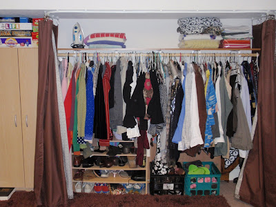 Expression Creates Being Diy Closet With Curtains On A