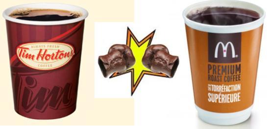 Tim Hortons Vs Mcdonald S Coffee