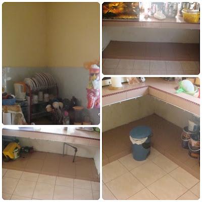 Gambar Ni Masa Belum Pasang Kabinet Dapur Sebelum Tempat Tutup Ngan Langsir Jer Tu Yang Ade Rezeki Sikit Buat