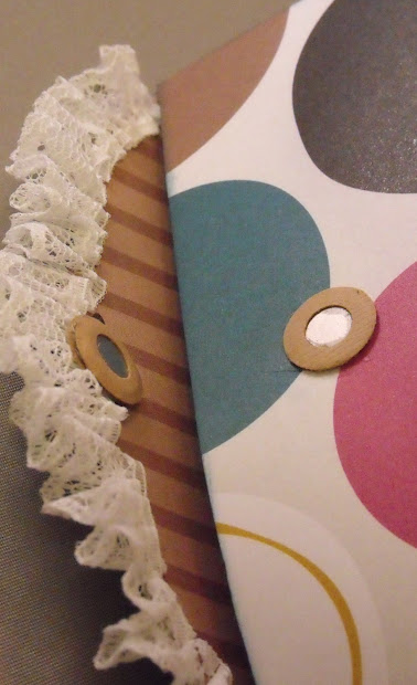 In Rosie' Book Decorated Sizzix Big Shot Pro Pillow Purse