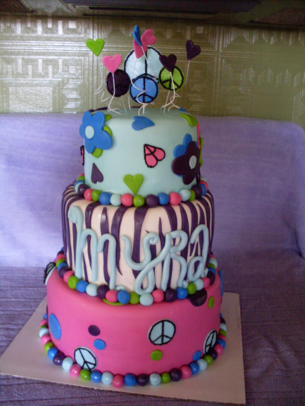Happy 9th Birthday Cake