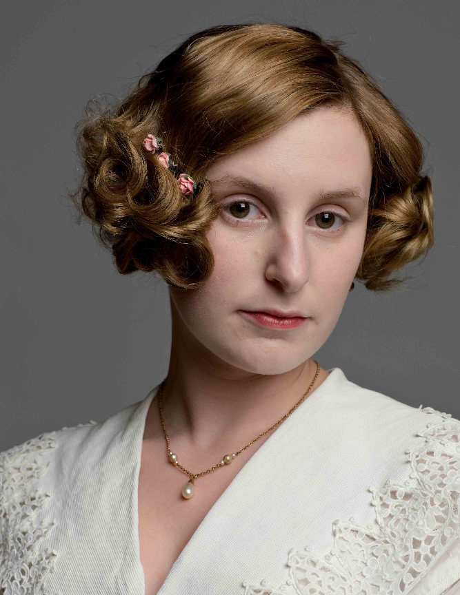How to get the dewy Downton Abbey look | Daily Mail Online |Edith Downton Abbey Hair