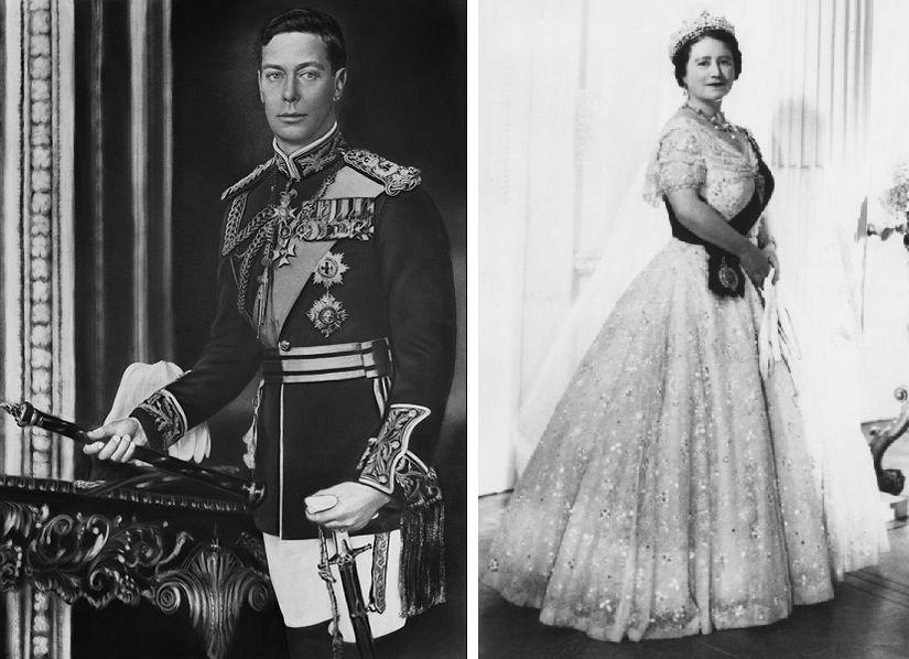 King George VI and Queen Elizabeth - a peek into the pastQueen Elizabeth Siblings
