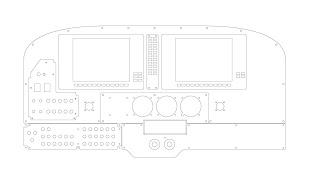 Cessna 172 Glass Cockpit Simulator