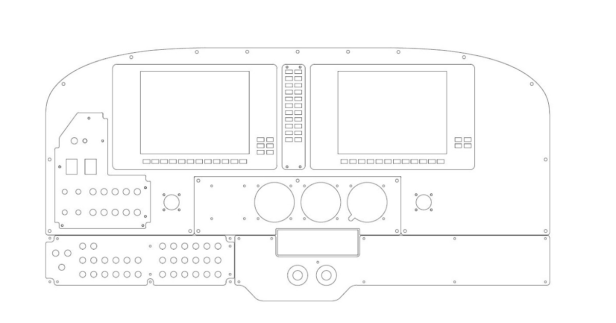 Rhydian's Simulator: current CAD drawing of my larger project