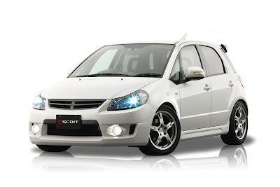 Scrit Suzuki SX4 body kit - Subcompact Culture