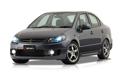 Scrit Suzuki SX4 Sedan - Subcompact Culture