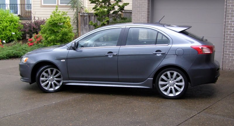 review 2010 mitsubishi lancer sportback ralliart a practical rally car for the streets. Black Bedroom Furniture Sets. Home Design Ideas