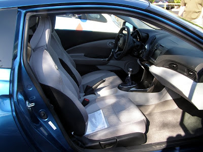 2011 Honda CR-Z interior - Subcompact Culture