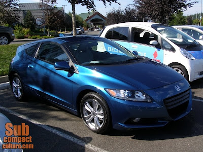 2011 Honda CR-Z - Subcompact Culture