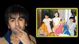 Ranbir Kapoor Childhood Photo With Kareena