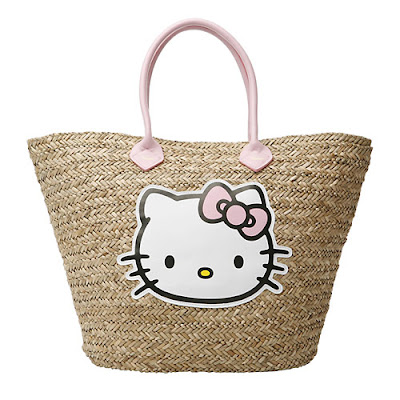 0189430ea3 I am proud to bring to you this week s bargain - the Hello Kitty Straw  Basket Bag by Victoria Couture.