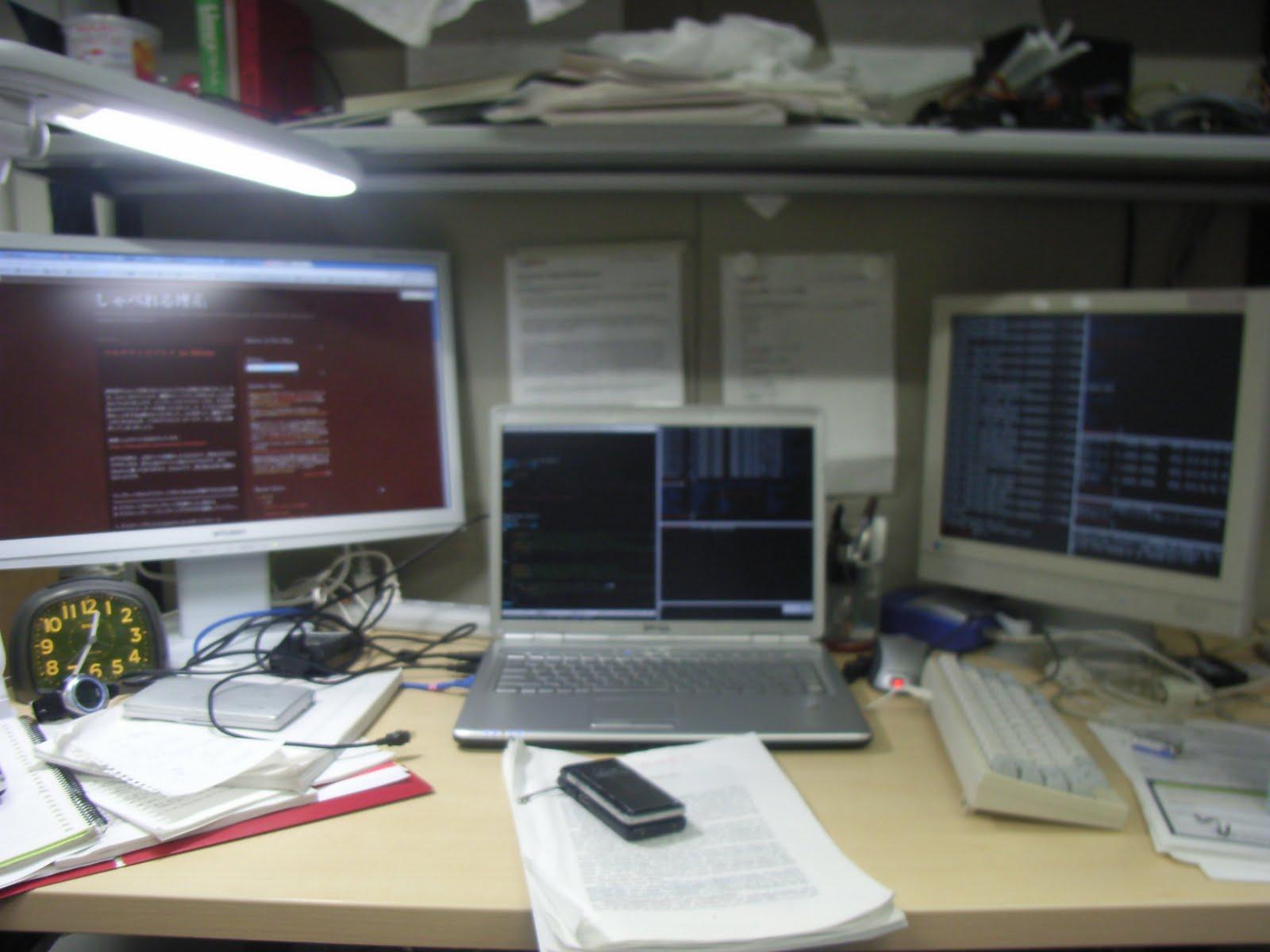 しゃべれる理系 マルチディスプレイ On Debian