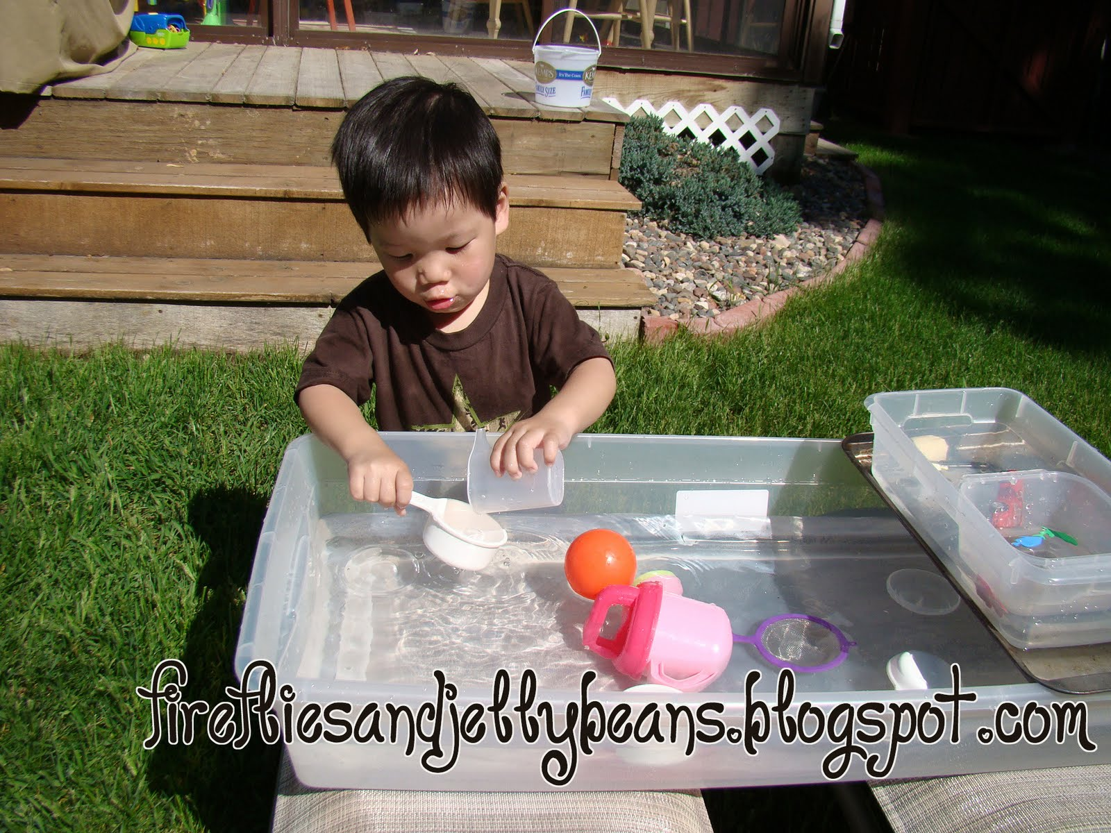 Fireflies And Jellybeans Make Your Own Water Table