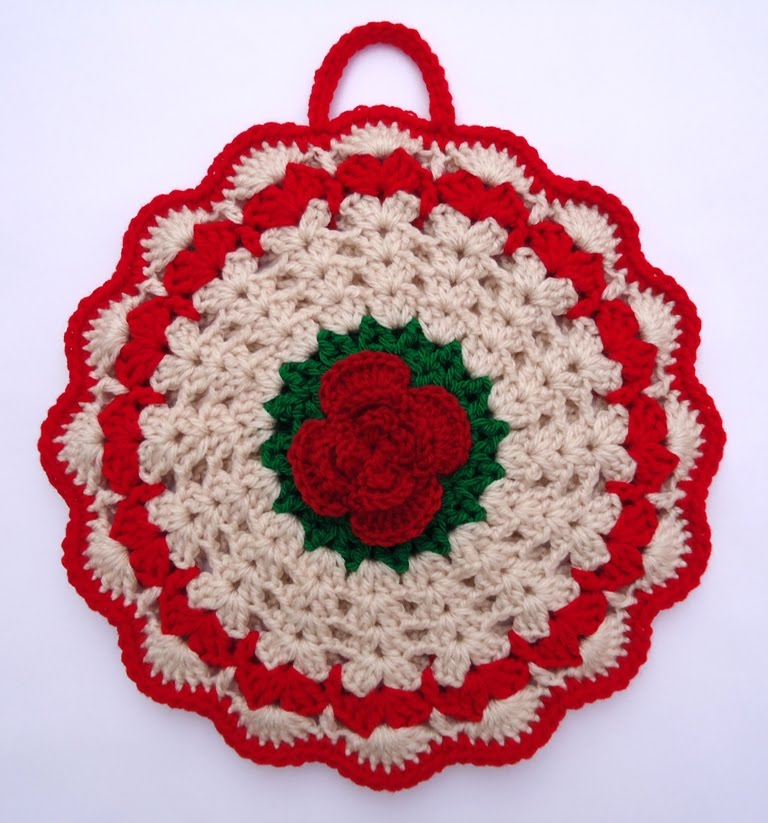 Crochet Pattern Potholders | Free Patterns For Crochet