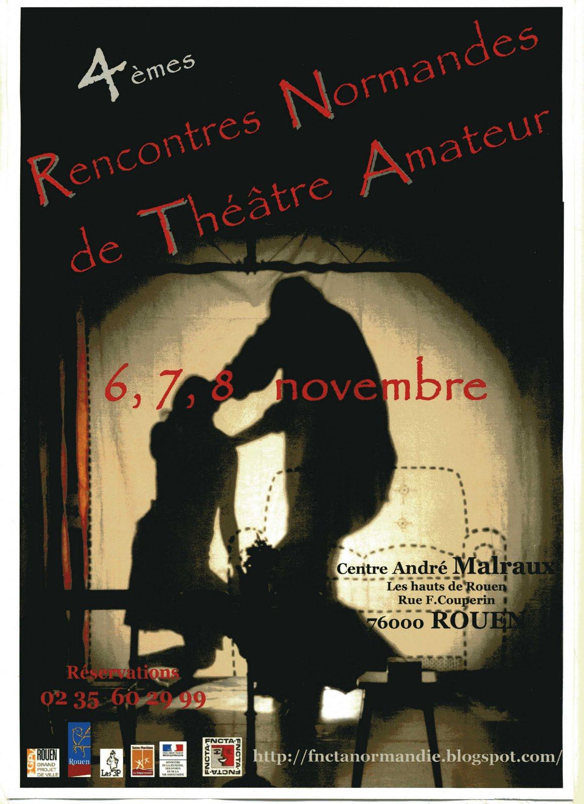 rencontres normandes de théâtre amateur de rouen