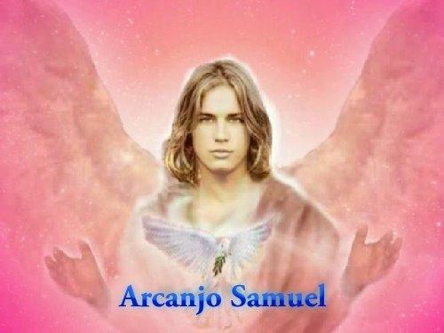 Resultado de imagem para Arcanjo Samuel e Caridade do Raio Rosa