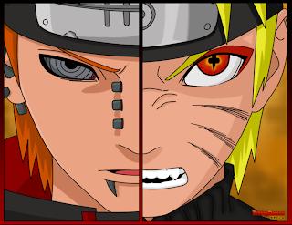 Naruto Vs  Pain   Wallpaper by LivingDemon