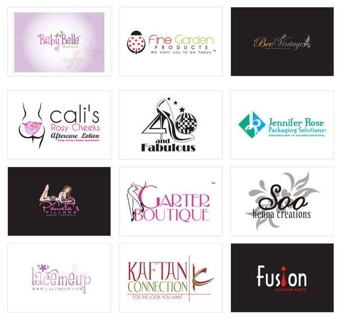 Custom Logo Design by LogoProDesign Boutique Logo Design