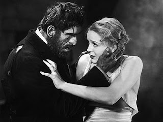 Gloria Stuart and Boris Karloff in The Old Dark House