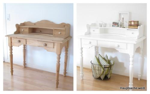 eiche rustikal mobel weis streichen raum und m beldesign inspiration. Black Bedroom Furniture Sets. Home Design Ideas