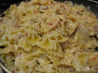 Asiago Cream Sauce Chicken Bow Tie Pasta
