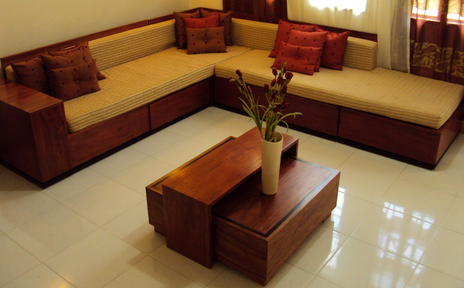 Sala Set Narra Planes And Angles Narra Furnitures